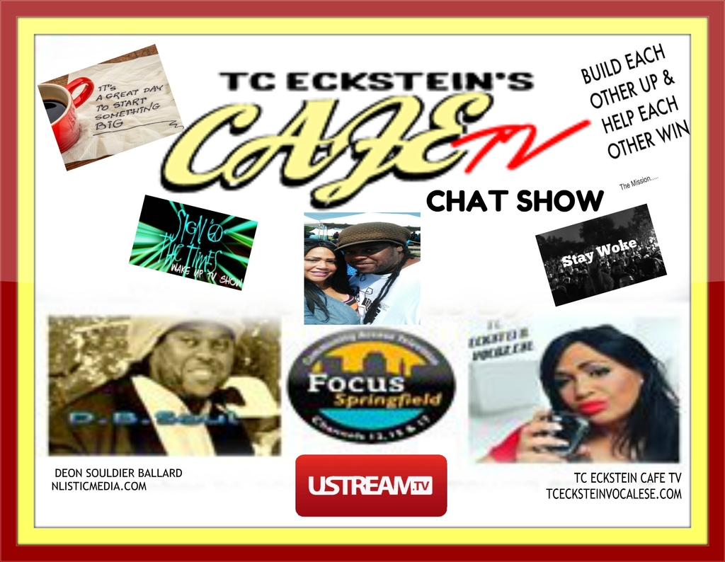 DEON AND TC CAFE CHAT LOGO