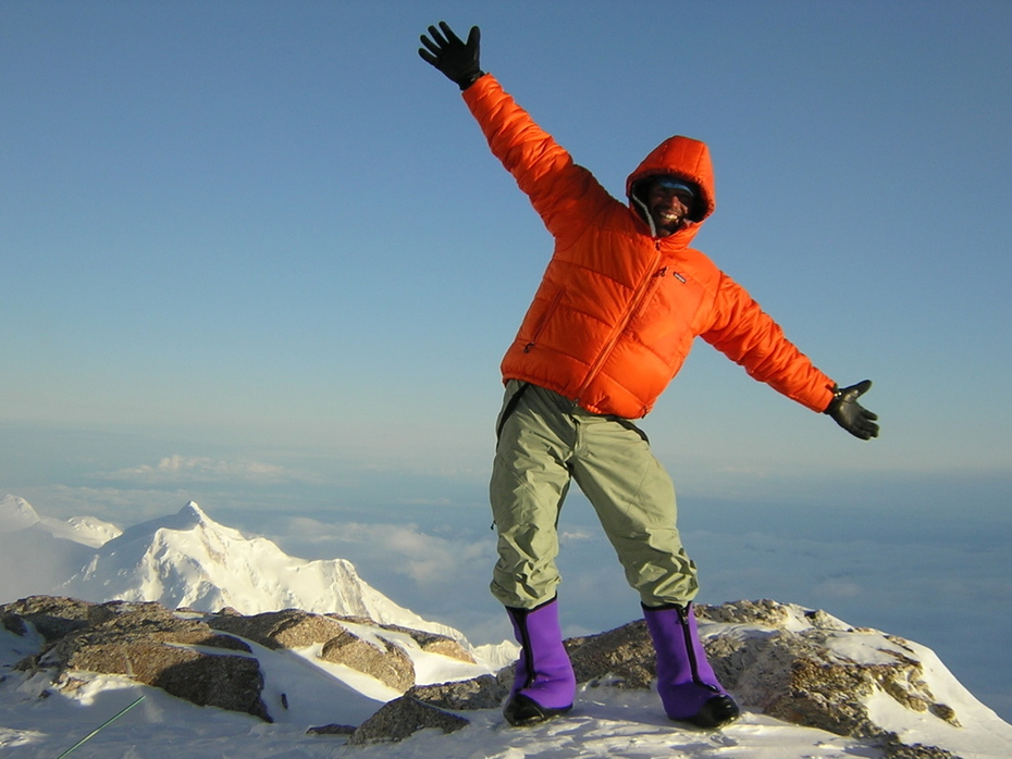 Happy Dance at 17,200 feet on Denali