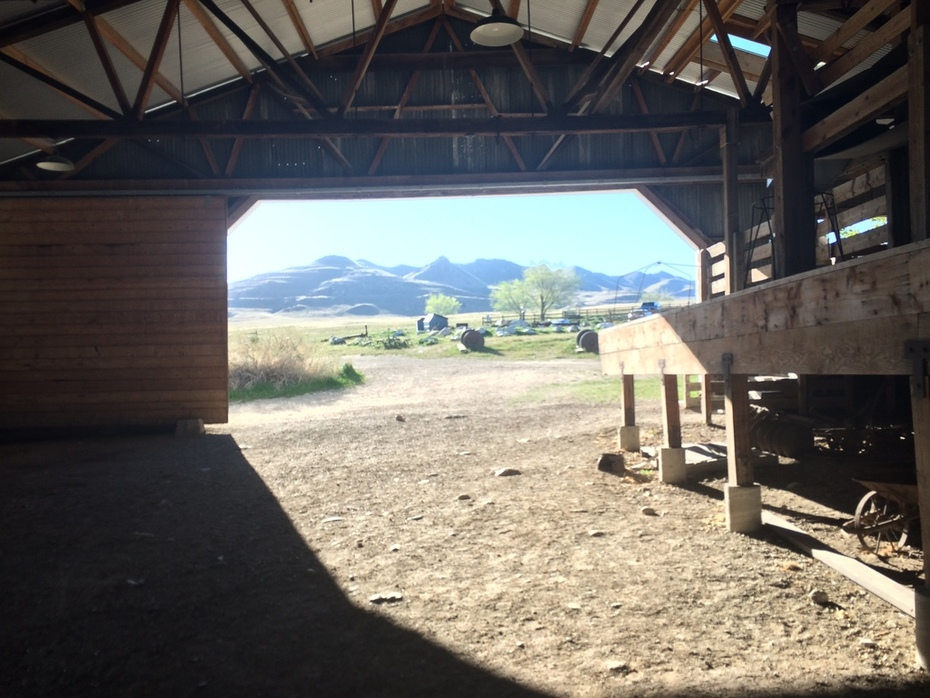 Fielding-Garr Ranch with Frary Mountains