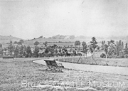 Grounds of Harringay House from Finsbury Park c 1880