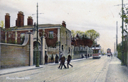 Green Lanes / Manor House Hill c 1905