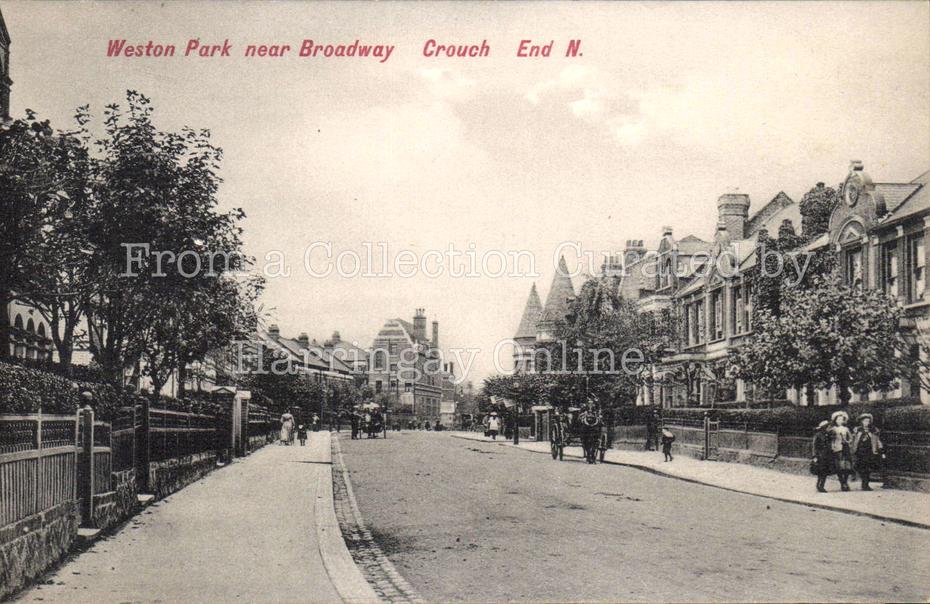 Weston Park, Crouch End c1905