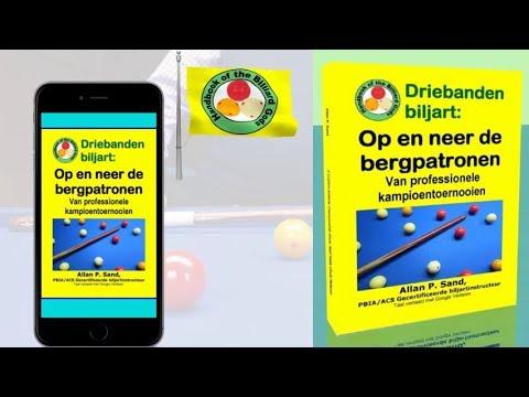 Video boeken voor Driebanden biljart: Op en neer de bergpatronen (nl)