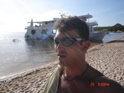 Chegando na Ilha de Alter do Chão -Pará
