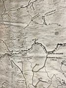 1970s trail map LeConte and Greenbrier Area