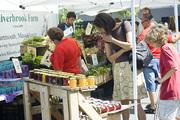 Farmers Market Kick Off Silverbrook Farm