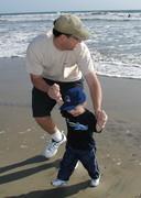 Micah & Daddy 2003