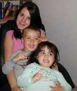 Micah with sisters - 2005