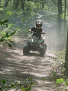 Daniel on his quad