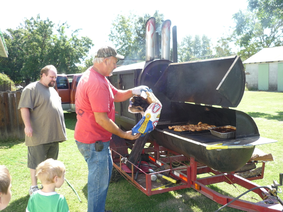 The bbq fundraiser.