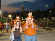 09 SEPTEMBER CONAUS w Mom and Dad at First UT Game GREAT GREAT