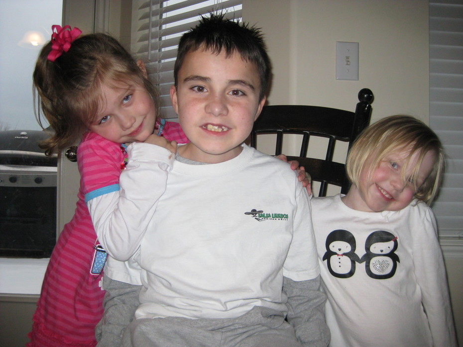 Tyler and his sisters