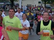 Team Thomas at Mile 4