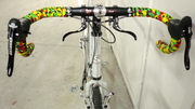 Salsa Bell Lap Bars with Rasta Tape