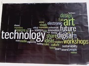 Word Cloud Poster in Oslo
