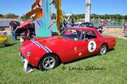 1959 Ferrari 250GT PF Coupe at Lake Mirror Classic