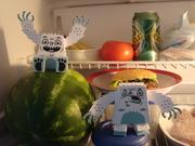 Barry & Harry en el refrigerador