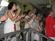 Women's Chorus singing Celito Lindo
