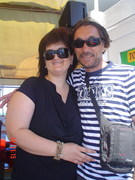 ..my sweetheart and I ...