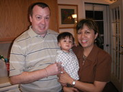 Me my wife Tess and son Andwer