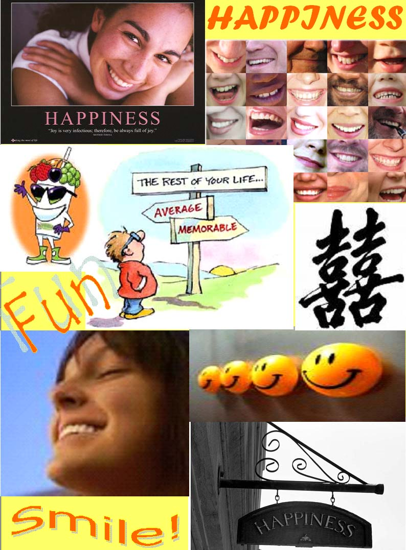 Vision Board - happiness