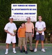 Memorial Jose Reche 2008, Paco, Juan Reche e Hijo y Eli