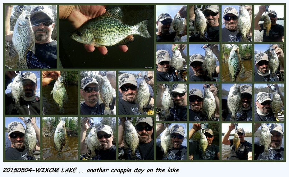 20150504-WIXOM LAKE CRAPPIES ~Numerous Crappies in one afternoon