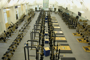 Notre Dame Weight Room