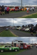 Walk to D-Feet NMD fund raiser- family fun Day- LakesEntrance- Hot Rods, Vintage, Rally, event raised $10.000 11/10/15