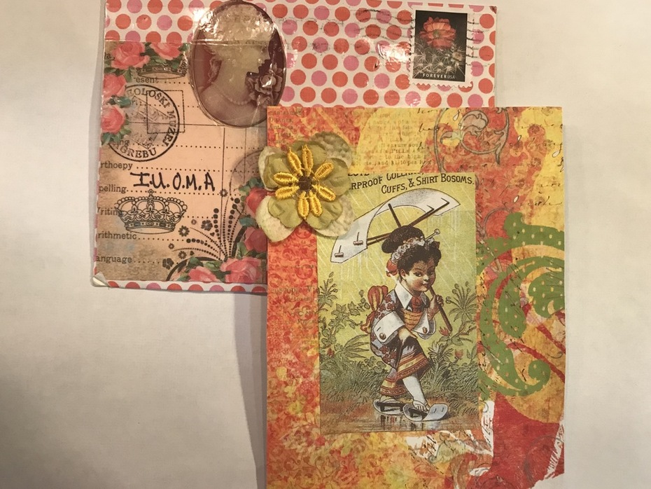 Mail art from Norma Soulet