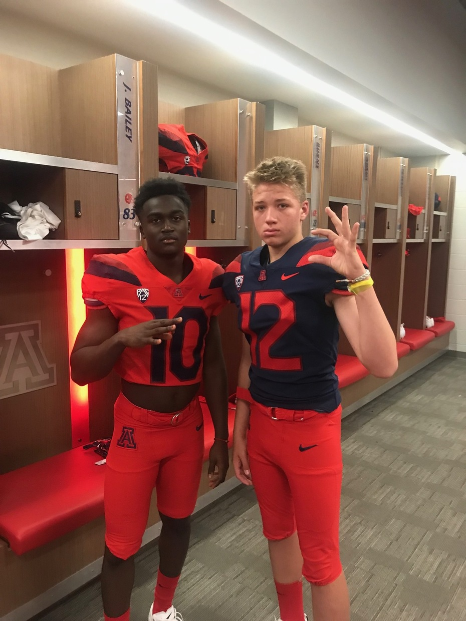 University of Arizona recruits from Saguaro High School