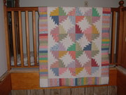 Quilt made July 4th week 2007 002