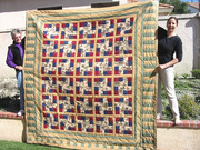 HORSE QUILT FINISHED