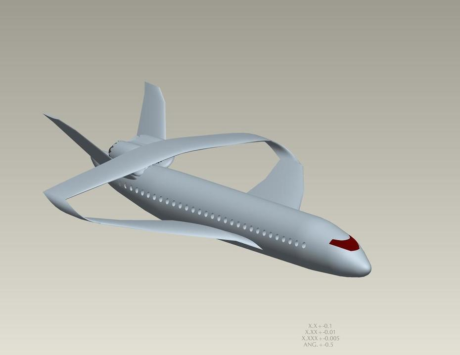 Closed Wing STOL aircraft concept