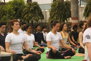 Pranayama Class at Jivan Chakra Foundation