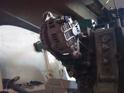 Alternator, bottom bracket view