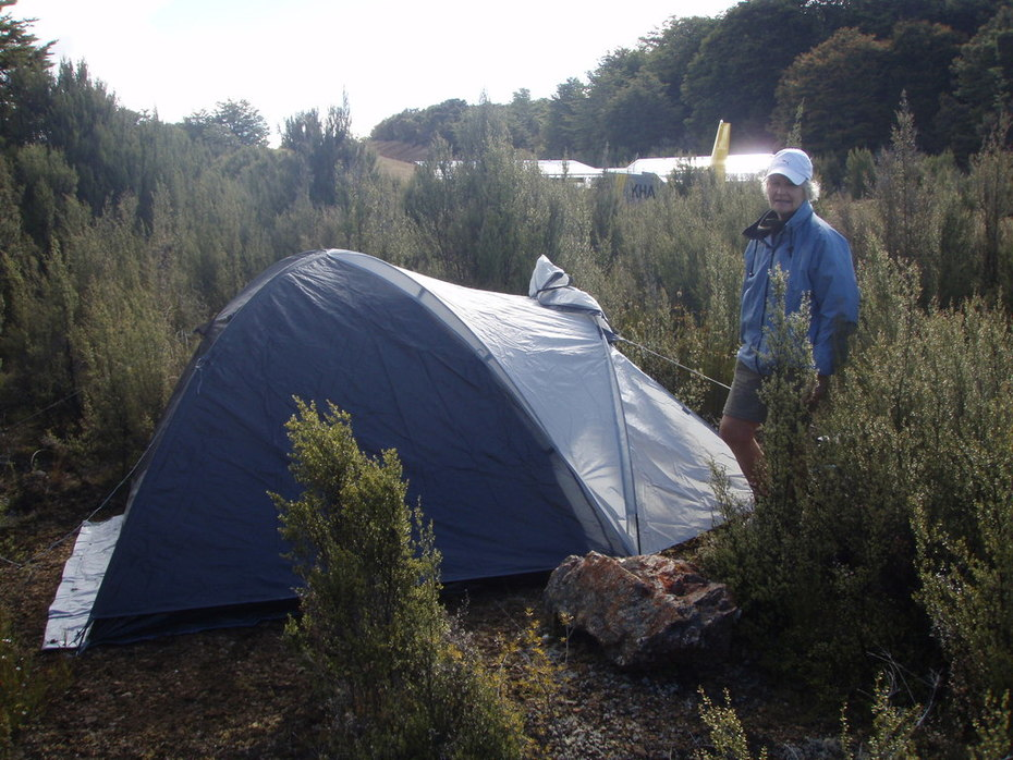 Camping in 2013 at Cobb Reservoir