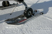 Retractable Wheel Skis