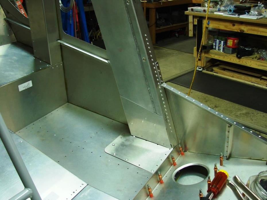 Skytec header tank, access panel and closeout panel