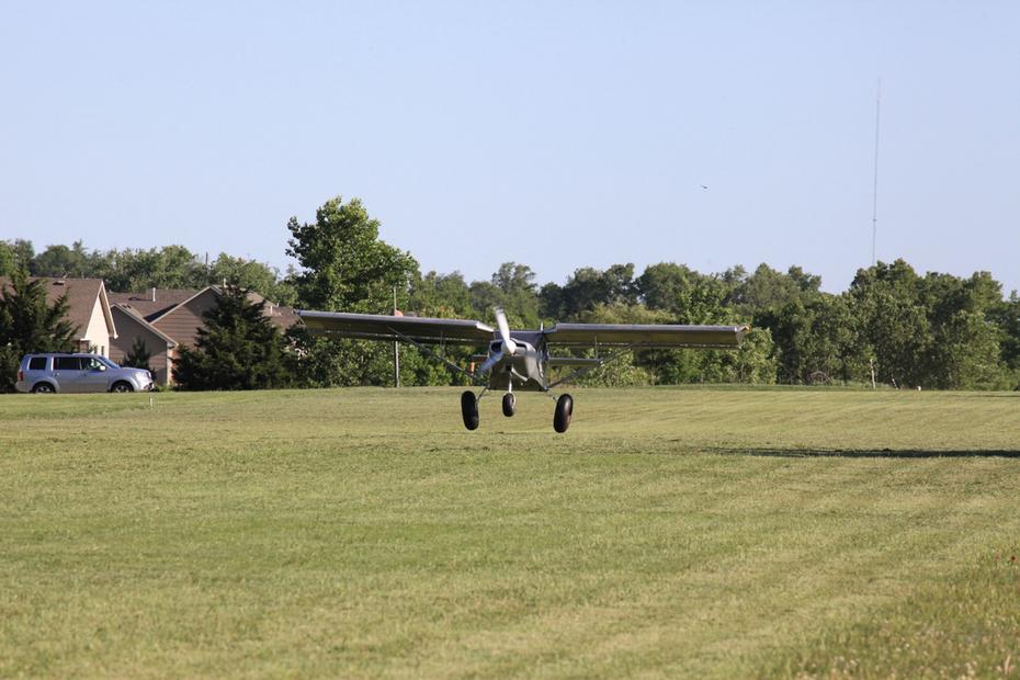 First Flight Takeoff