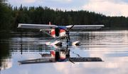 Taxiing at Lake Väärälampi, enjoy!