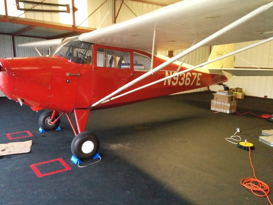 Bob's restored 1946 Aeronca Chief (FOR SALE)