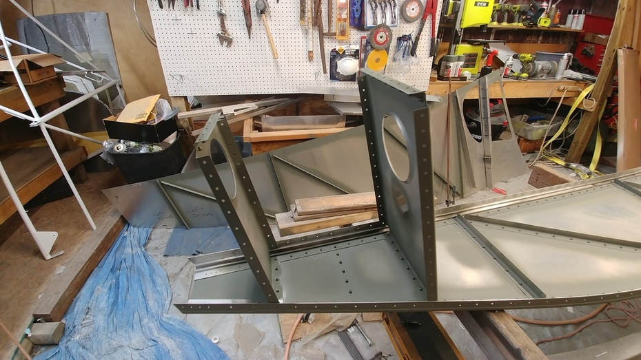 Rear Fuselage Tail Support Box