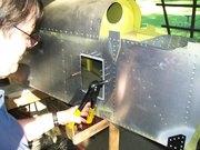 Tail Access Door Installation