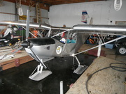 STOL CH 701 on skis