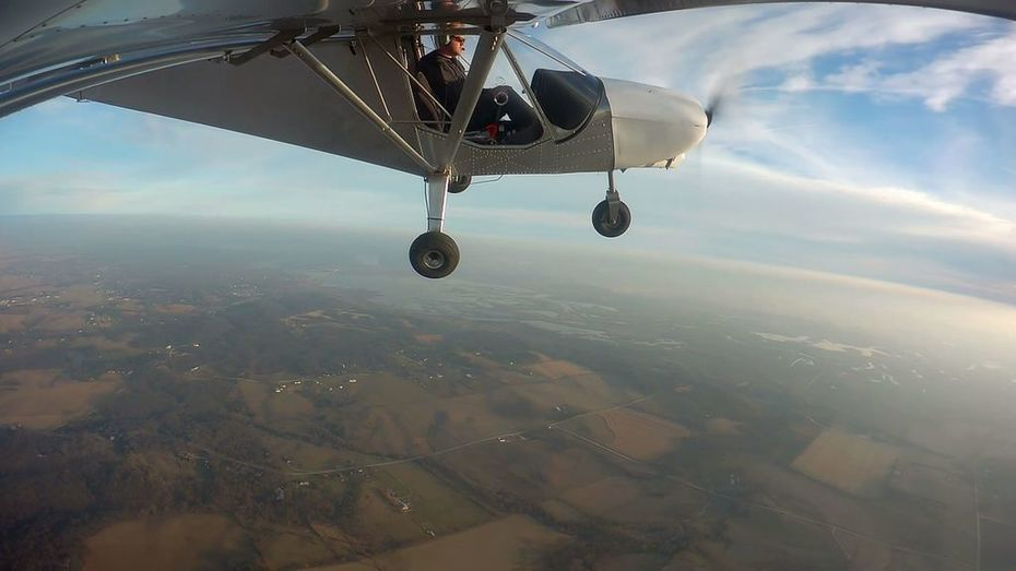 """Had a break in the weather last week, went flying again! 3 hours on the hobbs."""