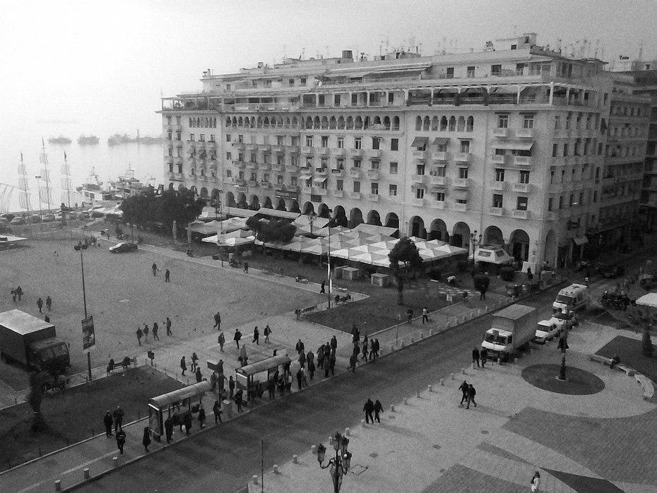 Πλατεία Αριστοτέλους από ψηλά...!