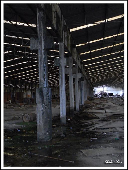 Εργοστάσιο Κουντούρη- Πύργος Ηλείας. Σήμερα...