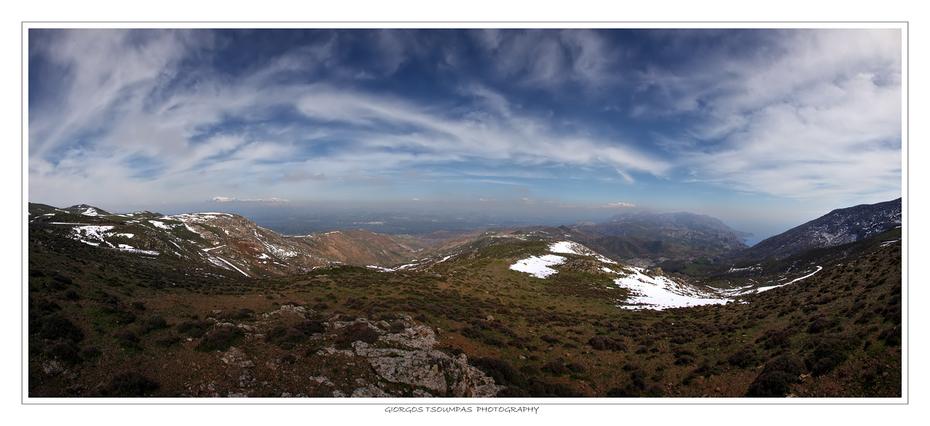 Πανοραμική θέα στα Αστερούσια Όρη