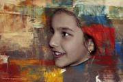 το κορίτσι που ήθελε να δραπετεύσει από τον πίνακα..